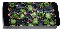 More Green Tomato Art Portable Battery Charger