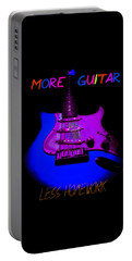 More Guitar Less Homework Portable Battery Charger