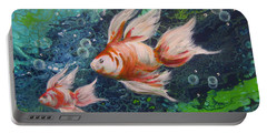 More Little Fishies Portable Battery Charger