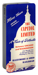 More Than Ever, The Capitol Limited Portable Battery Charger