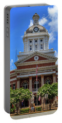 Portable Battery Charger featuring the photograph Morgan County Court House by Doug Camara