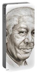 Morgan Freeman Portable Battery Charger
