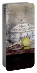 Morisot Berthe Tureen And Apple Portable Battery Charger