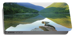 Morning At Echo Lake Portable Battery Charger by Roupen  Baker