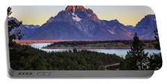 Morning At Mt. Moran Portable Battery Charger