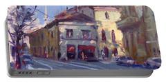 Morning At Padua Italy Portable Battery Charger