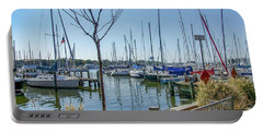 Morning At The Marina Portable Battery Charger