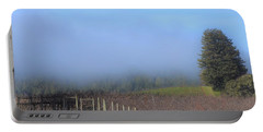 Morning At The Vinyard Portable Battery Charger