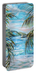 Morning At Turtle Bay Portable Battery Charger