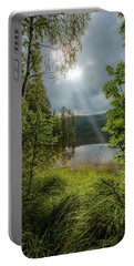 Morning Breath Portable Battery Charger by Rose-Marie Karlsen