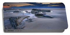 Portable Battery Charger featuring the photograph Morning Calm On Wells Beach by Rick Berk