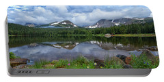 Morning Clouds Over Brainard Lake Portable Battery Charger