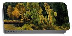 Morning Cottonwoods Portable Battery Charger