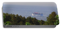 Morning Ferry To Mackinac Island Portable Battery Charger