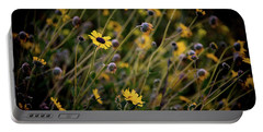 Morning Flowers Portable Battery Charger by Kelly Wade