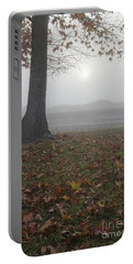 Morning Fog Portable Battery Charger by Jim And Emily Bush