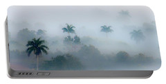 Morning Fog, Vinales Valley Portable Battery Charger