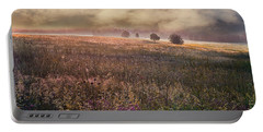 Portable Battery Charger featuring the photograph Morning Fog by Vladimir Kholostykh