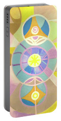 Morning Glory Geometrica Portable Battery Charger