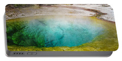 Morning Glory Pool Yellowstone National Park Portable Battery Charger