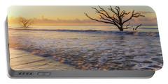 Morning Glow At Botany Bay Beach Portable Battery Charger