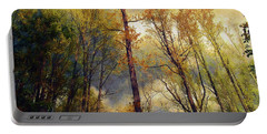 Morning Glow Portable Battery Charger by John Rivera