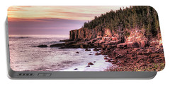 Morning In Acadia Portable Battery Charger