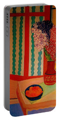 Bill Oconnors  Morning In Provence Portable Battery Charger by Bill OConnor