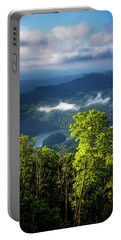 Morning In The Blue Ridge Mountains Portable Battery Charger