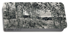 Portable Battery Charger featuring the photograph Morning In The Dunes by Michelle Calkins