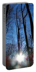 Morning In The Mountains Portable Battery Charger by Robert Meanor