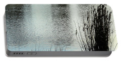 Portable Battery Charger featuring the photograph Morning Lake by Mark Blauhoefer