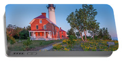 Morning Light At Au Sable Point Portable Battery Charger