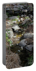 Morning Light At Strawberry Creek Portable Battery Charger by Suzanne Oesterling