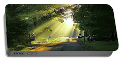 Portable Battery Charger featuring the photograph Morning Light by Brian Wallace