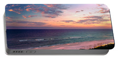 Morning Light On Rosemary Beach Portable Battery Charger by Marie Hicks