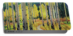 Morning Lights Of Aspen Trail Portable Battery Charger