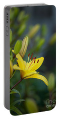 Morning Lily Portable Battery Charger