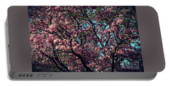 Morning Lit Magnolia Portable Battery Charger