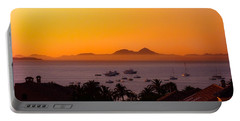 Portable Battery Charger featuring the photograph Morning Mist by Scott Carruthers