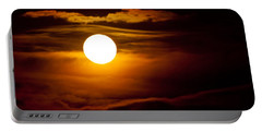 Morning Moonset Portable Battery Charger