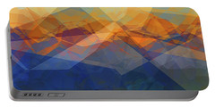 Morning Mountain View Portable Battery Charger