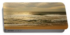 Morning On The Beach - Jersey Shore Portable Battery Charger