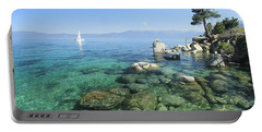 Portable Battery Charger featuring the photograph Morning On The Water by Sean Sarsfield