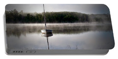 Morning On White Sand Lake Portable Battery Charger