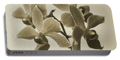Morning Orchid Portable Battery Charger