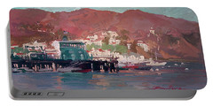 Morning Pleasures - Catalina Harbor Portable Battery Charger