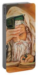 Morning Prayer Portable Battery Charger by Itzhak Richter