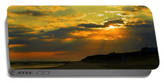 Morning Rays Over Cape Cod Portable Battery Charger