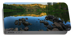 Morning Reflection On Castle Lake Portable Battery Charger
